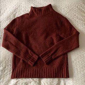 J. Crew Mock Neck Sweater - size M